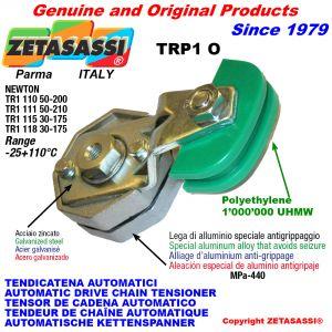 TENSOR DE CADENA ROTATIVO TRP1 con patin tensor cadena cabeza oval Newton50:200-50:210-30:175