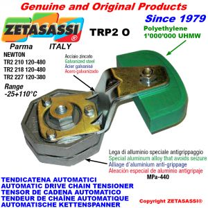 AUTOMATIC ARM CHAIN TENSIONER TRP2 with chain slider oval head Newton120:480