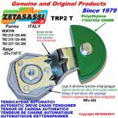 TENSOR DE CADENA ROTATIVO TRP2 con patin tensor cadena cabeza redonda Newton120:480