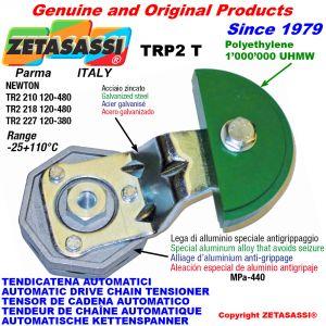 BRAS TENDEUR AUTOMATIQUE DE CHAÎNE TRP2 avec patin tendeur de chaîne tête ronde Newton120:480