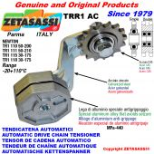AUTOMATIC ARM CHAIN TENSIONER TRR1AC with idler sprocket AC Newton50:200-50:210-30:175