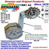 TENDICATENA ROTANTE TRR1AC con pignone tendicatena AC Newton50:200-50:210-30:175