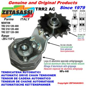 AUTOMATIC ARM CHAIN TENSIONER TRR2AC with idler sprocket AC Newton120:480-120:380