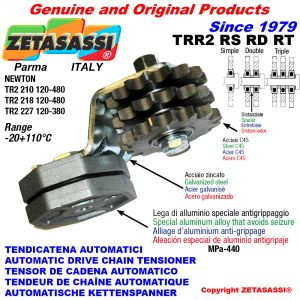 AUTOMATIC ARM CHAIN TENSIONER TRR2 with idler sprocket RS RD RT Newton120:480-120:380