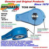 TENDEUR TC08 INOX ALIMENTAIRE avec trou ou filetée Newton40:210