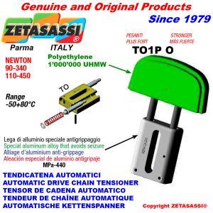 TENSOR DE CADENA AUTOMATICO LINEAL TO1-P MÁS FUERTE cabeza oval Newton 90:340-110:450