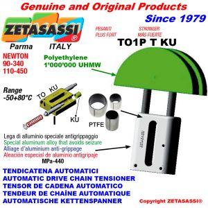 TENDICATENA AUTOMATICO LINEARE TO1-P PESANTE KU testa tonda (Boccole PTFE) Newton90:340-110:450