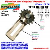 ADJUSTABLE CHAIN TENSIONER TFR1 with idler sprocket RS RD RT