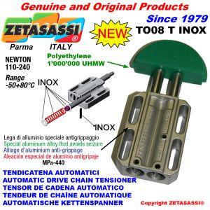 TENSOR DE CADENA AUTOMATICO LINEAL TO08INOX  cabeza redonda Newton110:240