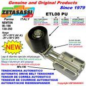 TENDICINGHIA AUTOMATICO LINEARE ETL08 PU con rullo folle Newton130:250-95:190