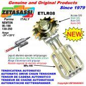 TENDICATENA AUTOMATICO LINEARE ETLR08 con pignone AC Newton130:250-95:190