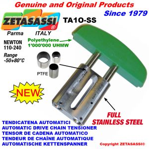 Completely in stainless steel AUTOMATIC LINEAR DRIVE CHAIN TENSIONER TA1-SS oval arch head Newton110:240