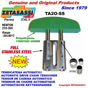 TENDICATENA AUTOMATICO LINEARE completamente in acciaio inox TA2-SS testa ad arco ovale Newton210:350