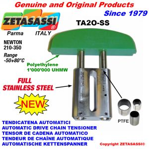 TENSOR DE CADENA AUTOMATICO LINEAL completamente de acero inoxidable  TA2-SS  cabeza a arco oval Newton210:350