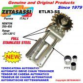 TENDEUR DE CHAINE AUTOMATIQUE LINÉAIRE entièrement en acier inoxydable ETLR3-SS Newton 250:450