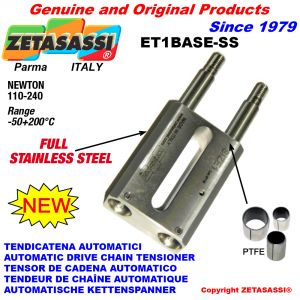 TENDEUR AUTOMATIQUE LINÉAIRE ET1 BASE-SS entièrement en acier inoxydable sans tête Newton110:240
