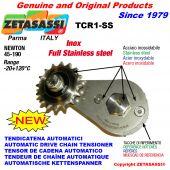 TENDEUR TCR1-SSavec pignon AC INOX Newton 45:190